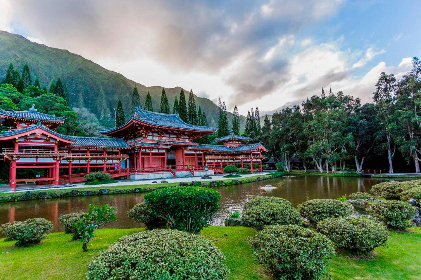 trips to discover the oceanian and asian architecture
