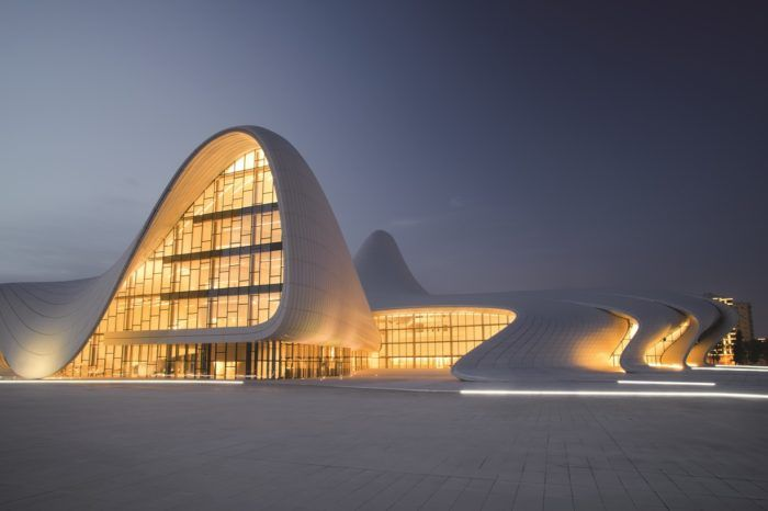 Architecture trip to Tbilisi and Baku: Zaha Hadid and the others