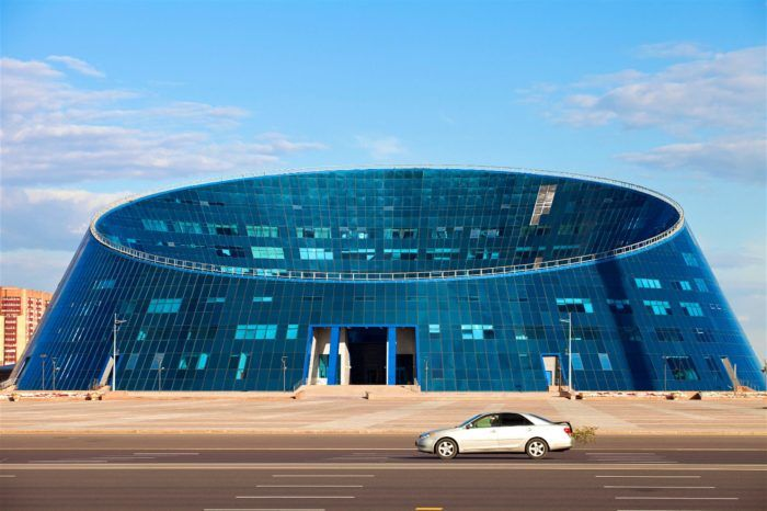 Architecture trip to Kazakhstan